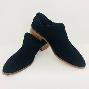 SAM EDELMAN ankle boots women suede black Sz 8.5